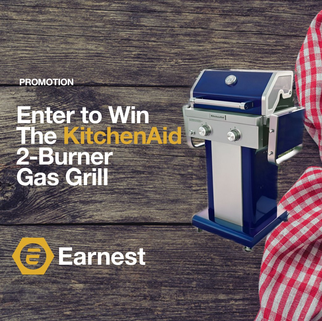 Enter to Win The KitchenAid 2-Burner Gas Grill