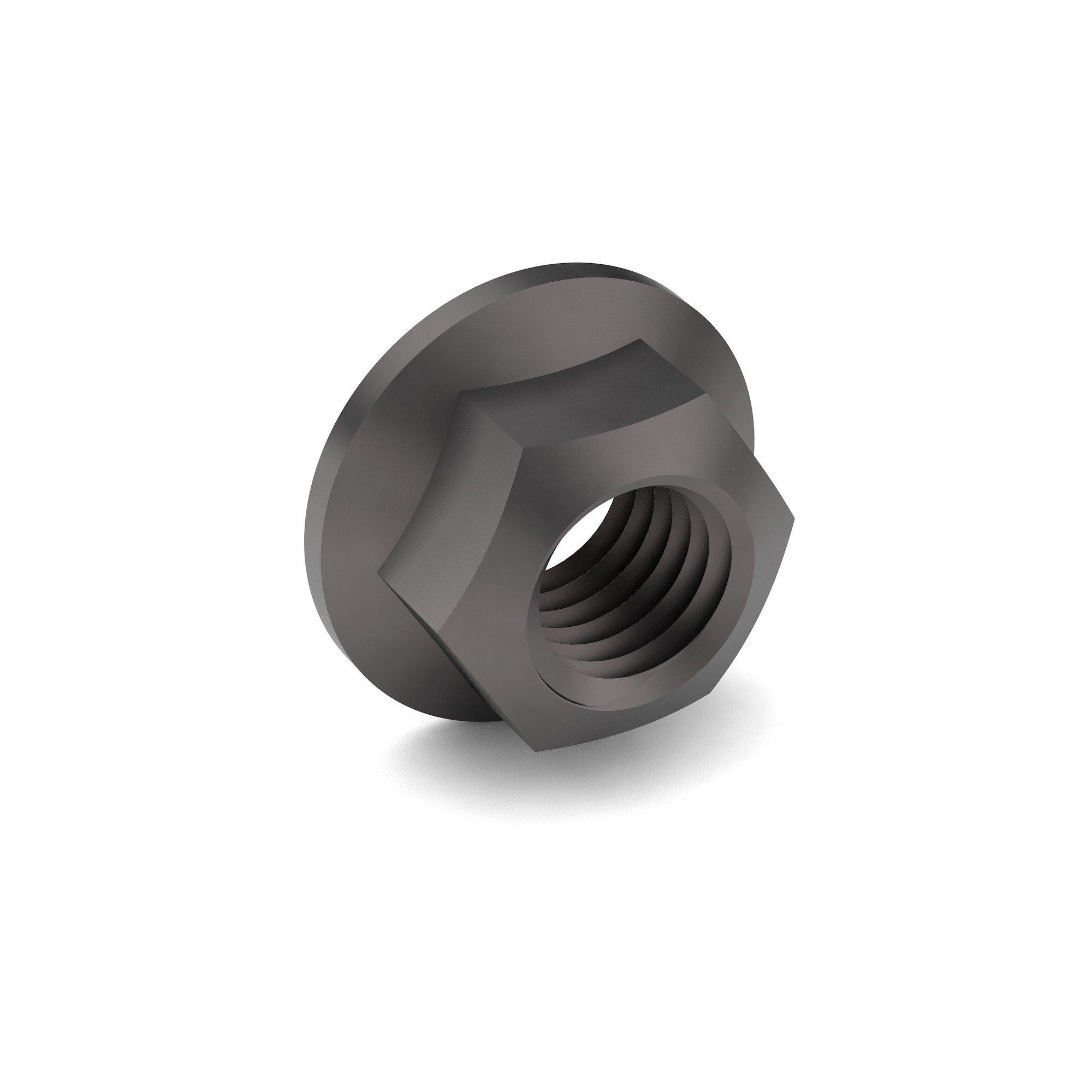 3/8-16 IFI GR G All Metal Hex Flange Lock Nut Zinc Flake 240 HRS RR