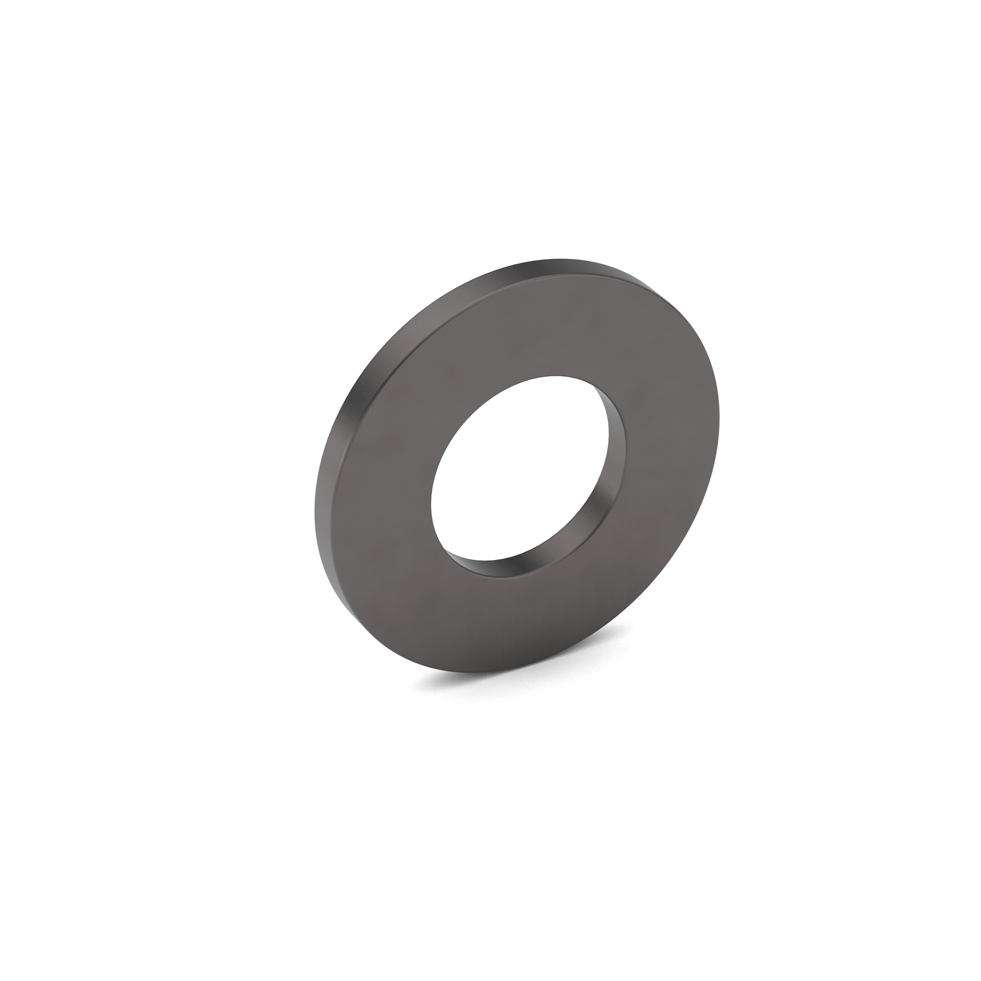 1/4 Carbon Steel SAE Flat Washer Plain Finish