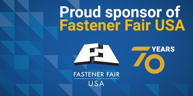 Proud Sponsor of Fastener Fair