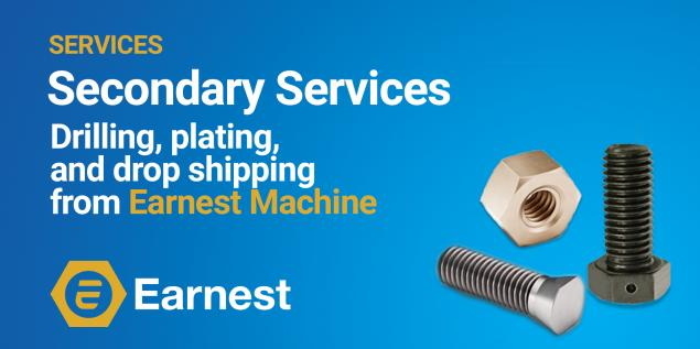Earnest Machine Secondary Services