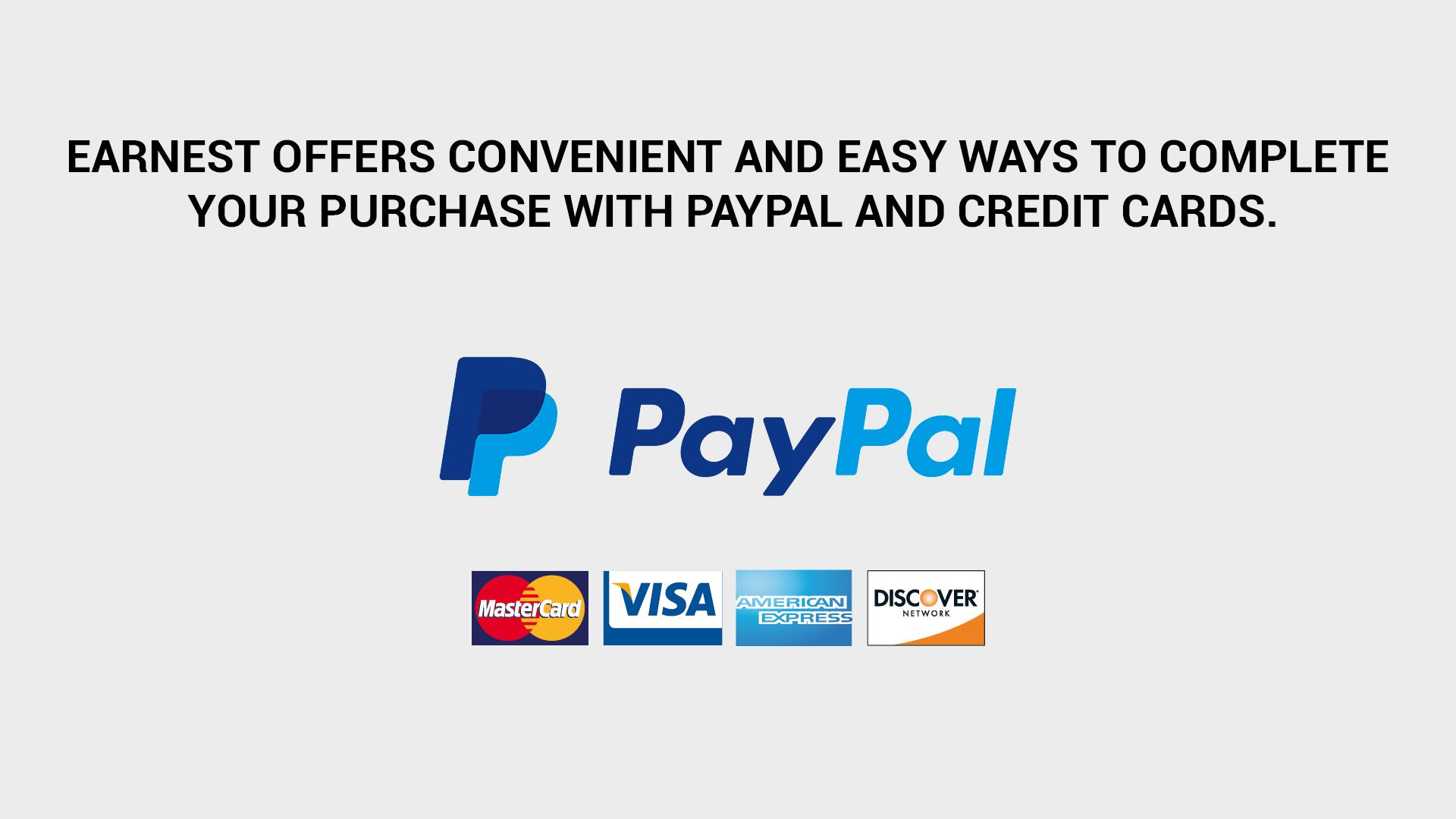 What's New on the Web Part 2 - Complete your online purchase with PayPal and Credit Card