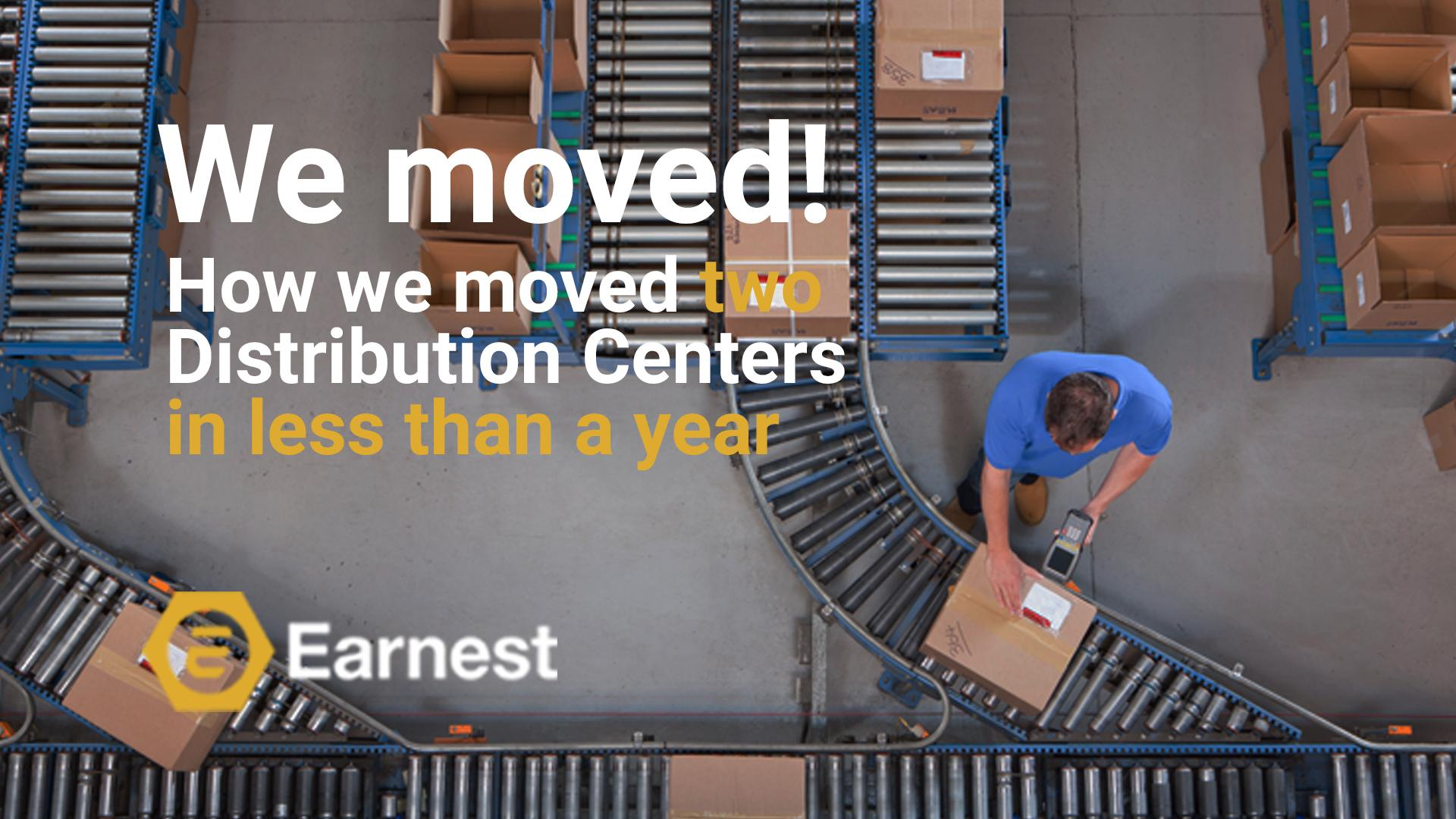 Earnest Machine Products New Distribution Centers